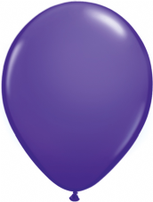 Qualetex Purple Violet Balloons 6 Pack